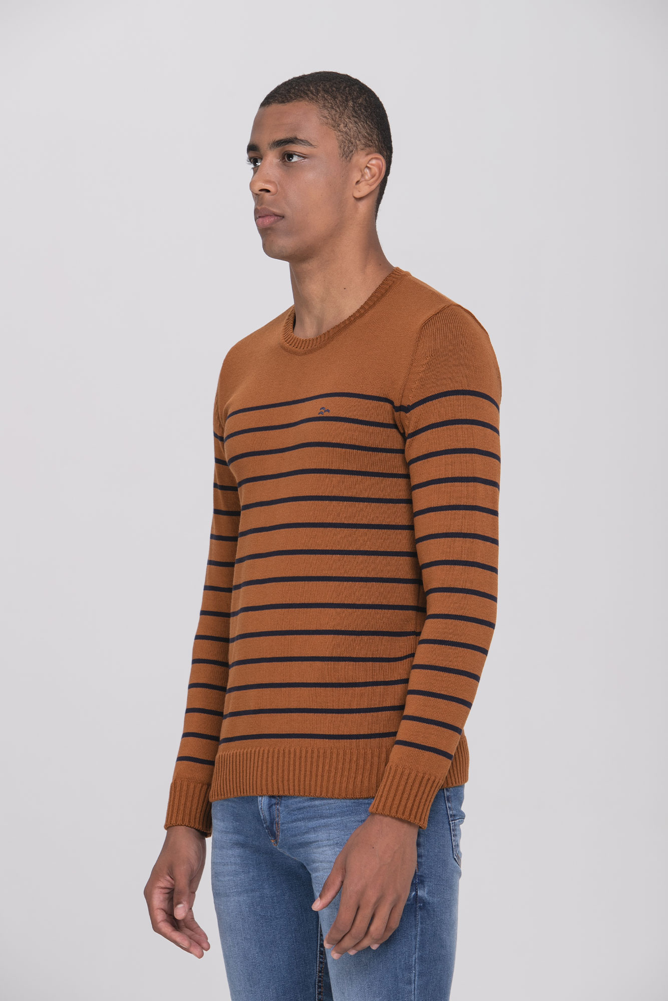 Suéter Caramel Marine Lines
