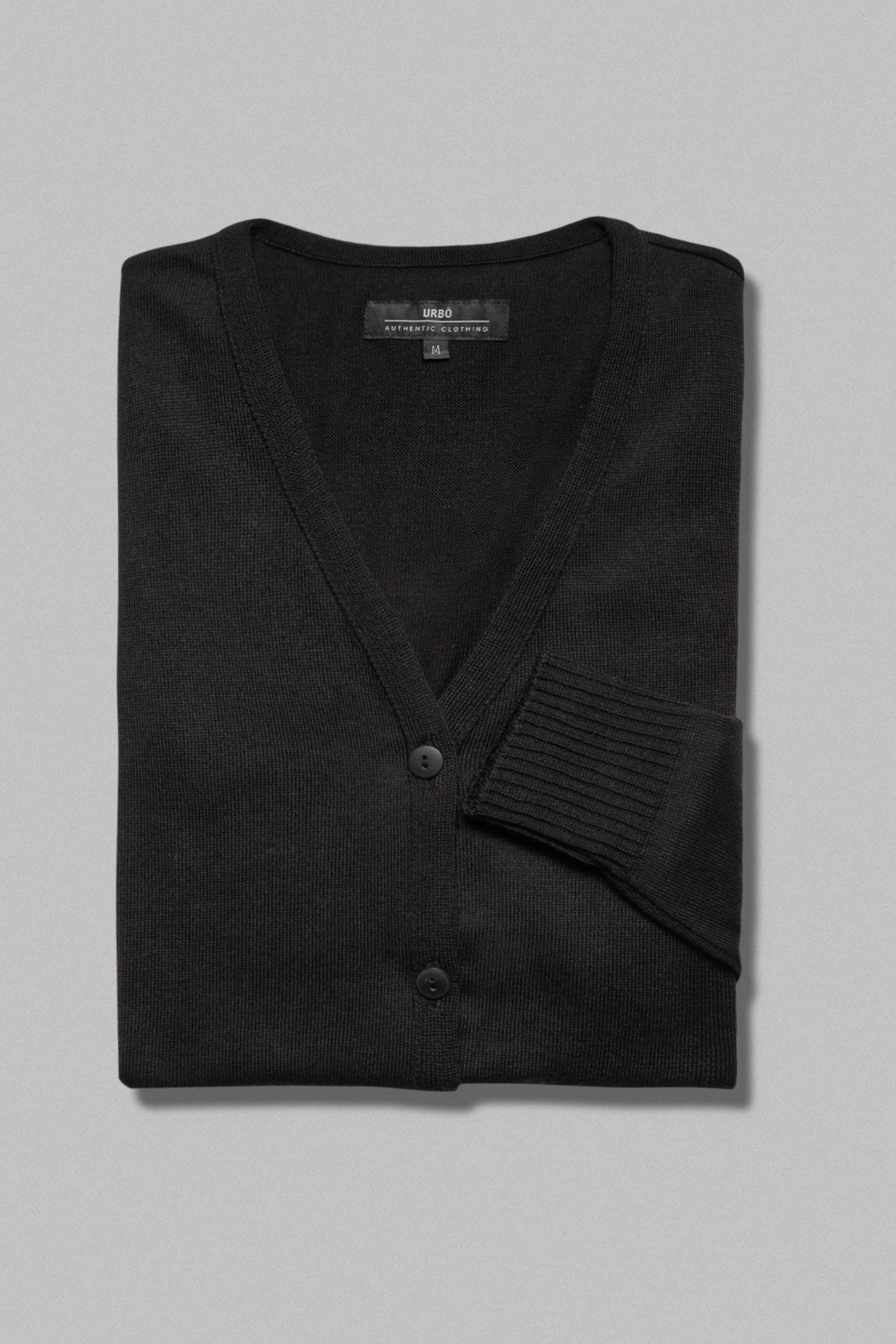 Suéter Cardigan Black