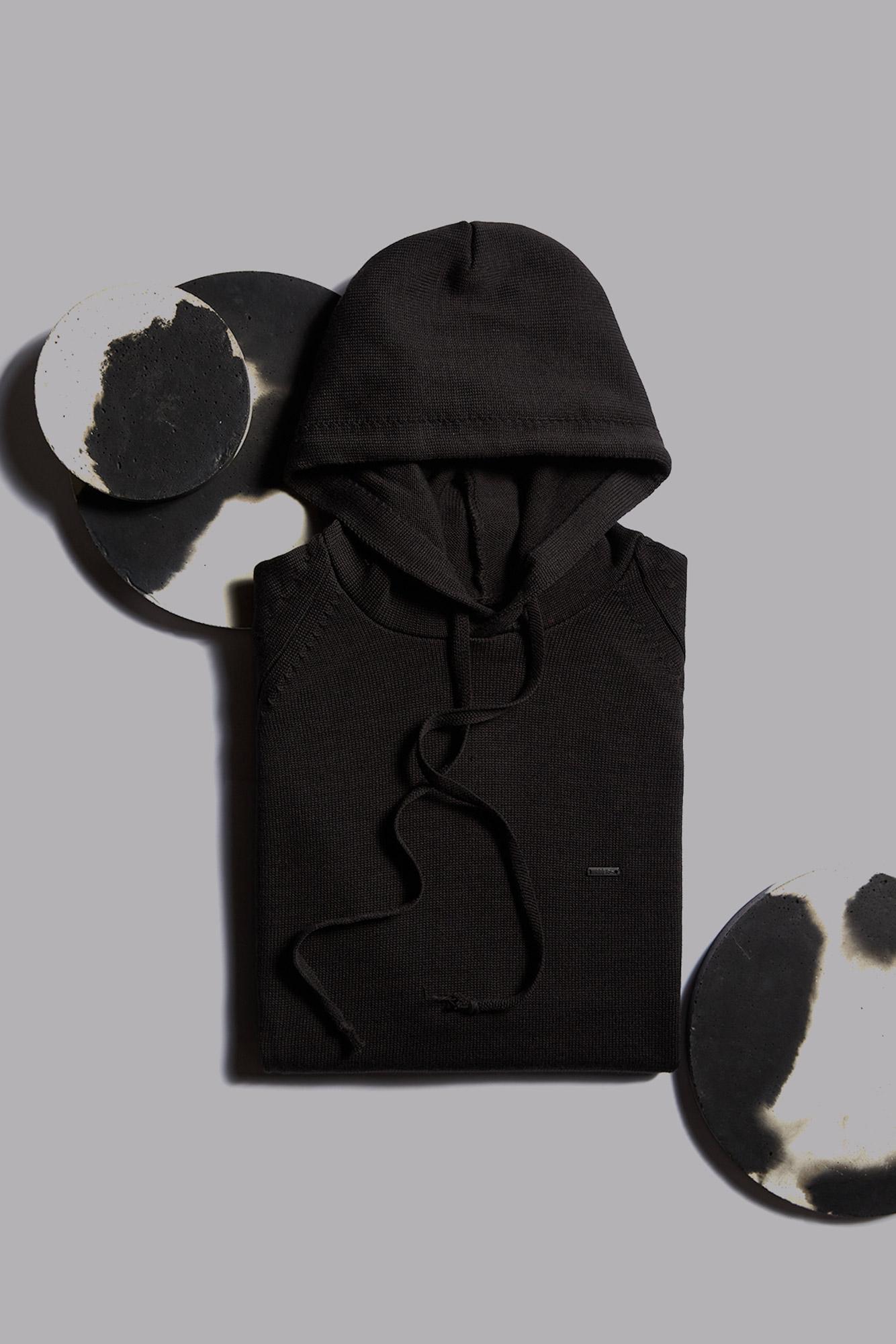 Suéter Hoodie Black