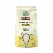 Farinha de Trigo 100% Integral e Organica 500g - Mãe Terra