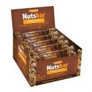 Nuts bar Castanhas e Chocolate cx.12 x 25g - Banana Brasil