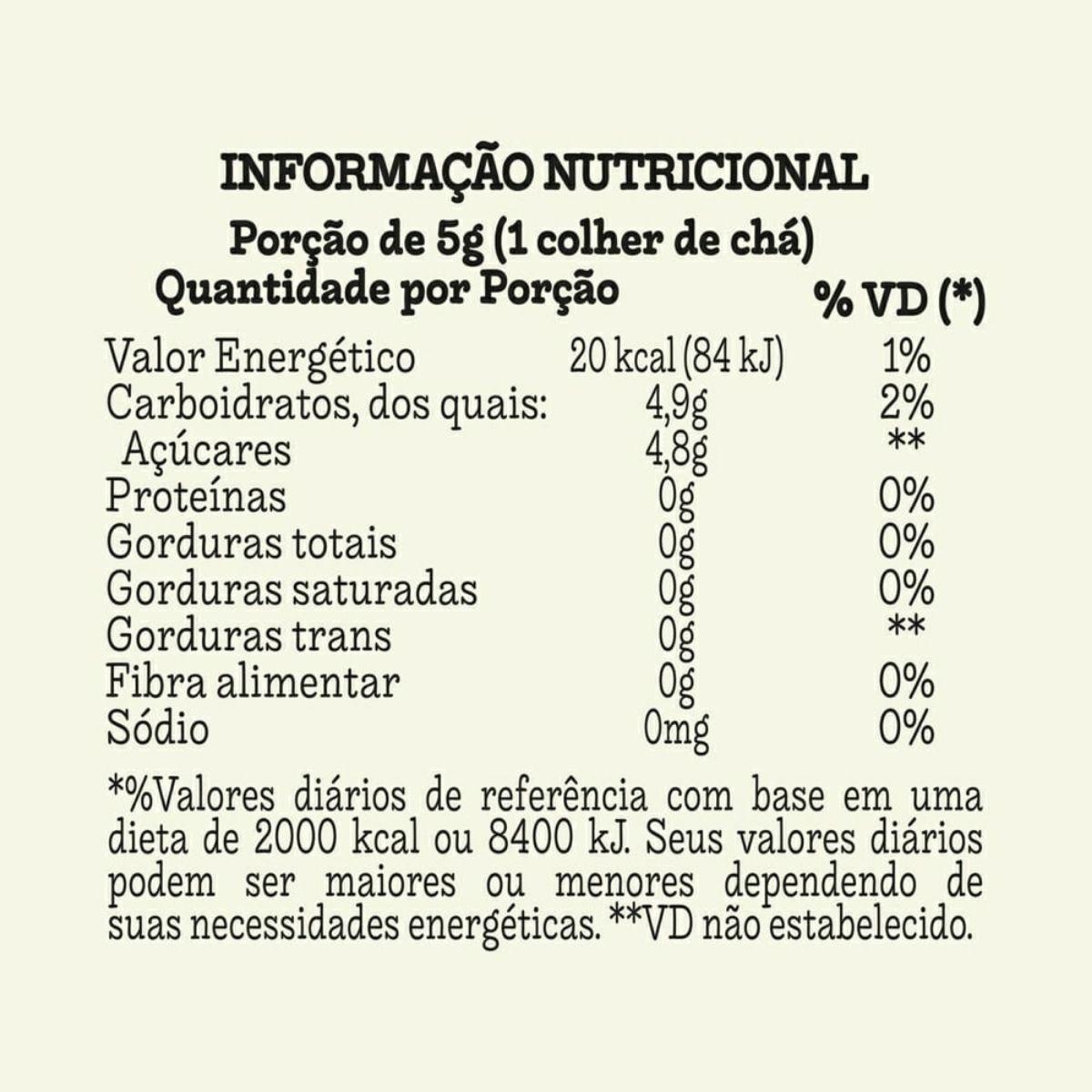 Açúcar Demarara Livre de Aditivos 400g - Mãe Terra