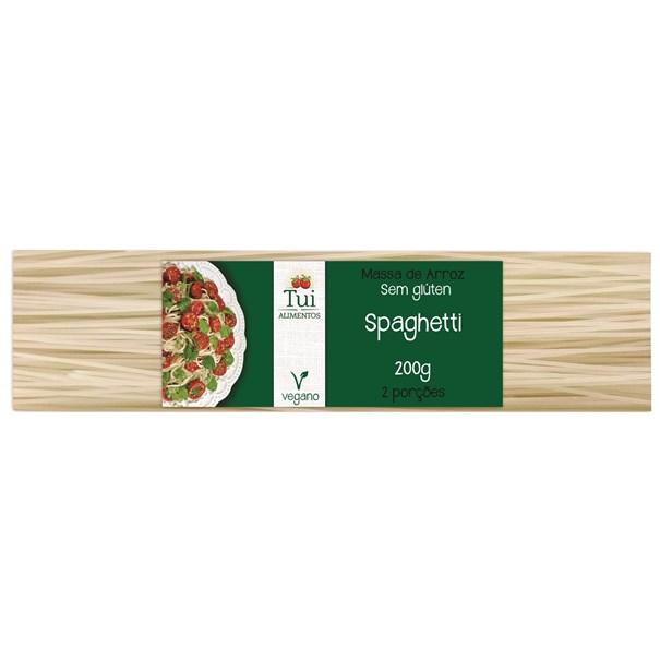 Macarrão Espaguete de Arroz 200g - Tui Alimentos