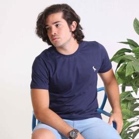 Camiseta Básica  marinho