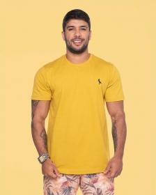 Camiseta Básica Mostarda