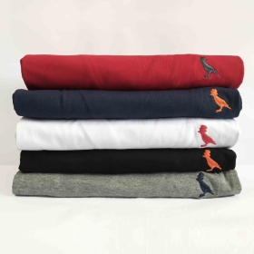 kit 5 Camisetas Básica Masculino Kactoos