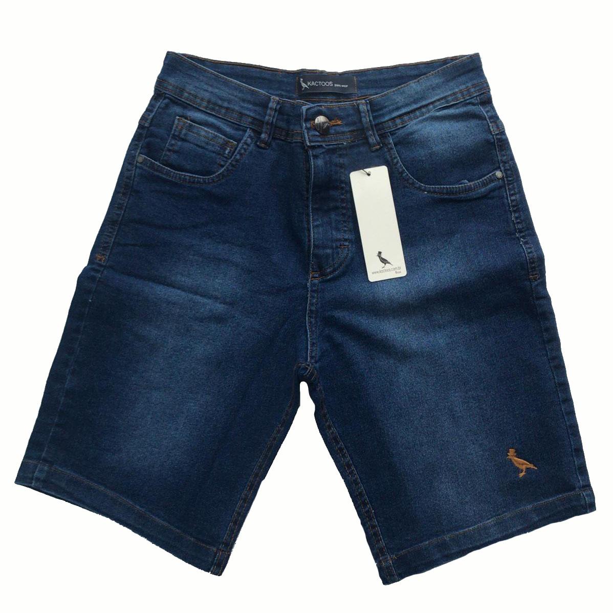 Bermuda Jeans Masculina  - Kactoos