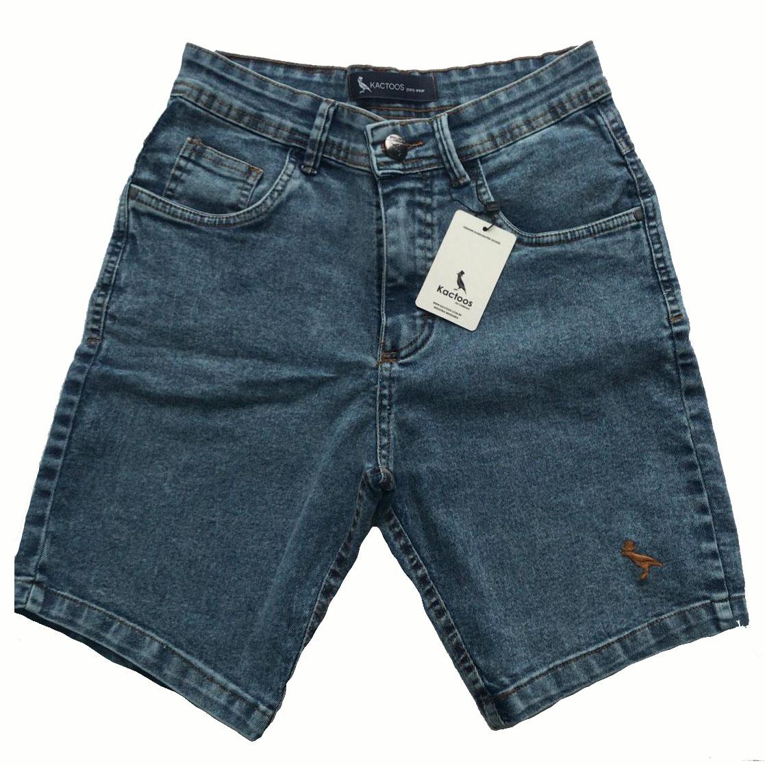 Bermuda Jeans Masculino  - Kactoos