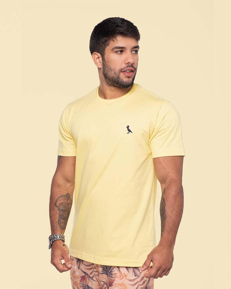 Camiseta Básica amarela  - Kactoos