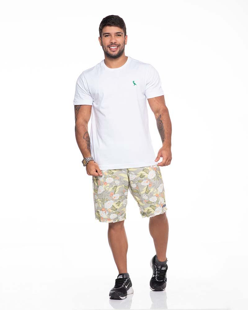 Camiseta Básica Branca  - Kactoos