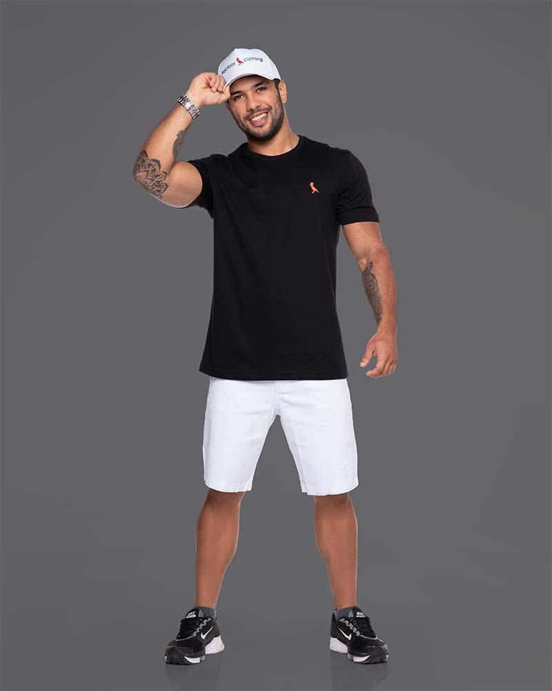 Camiseta Básica  preto  - Kactoos