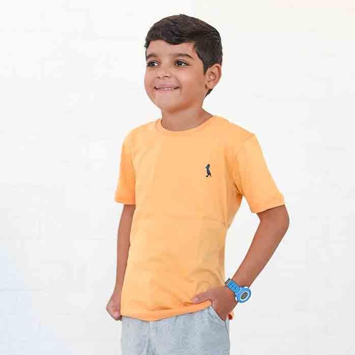 Camiseta Infanto-Juvenil amarelo   - Kactoos