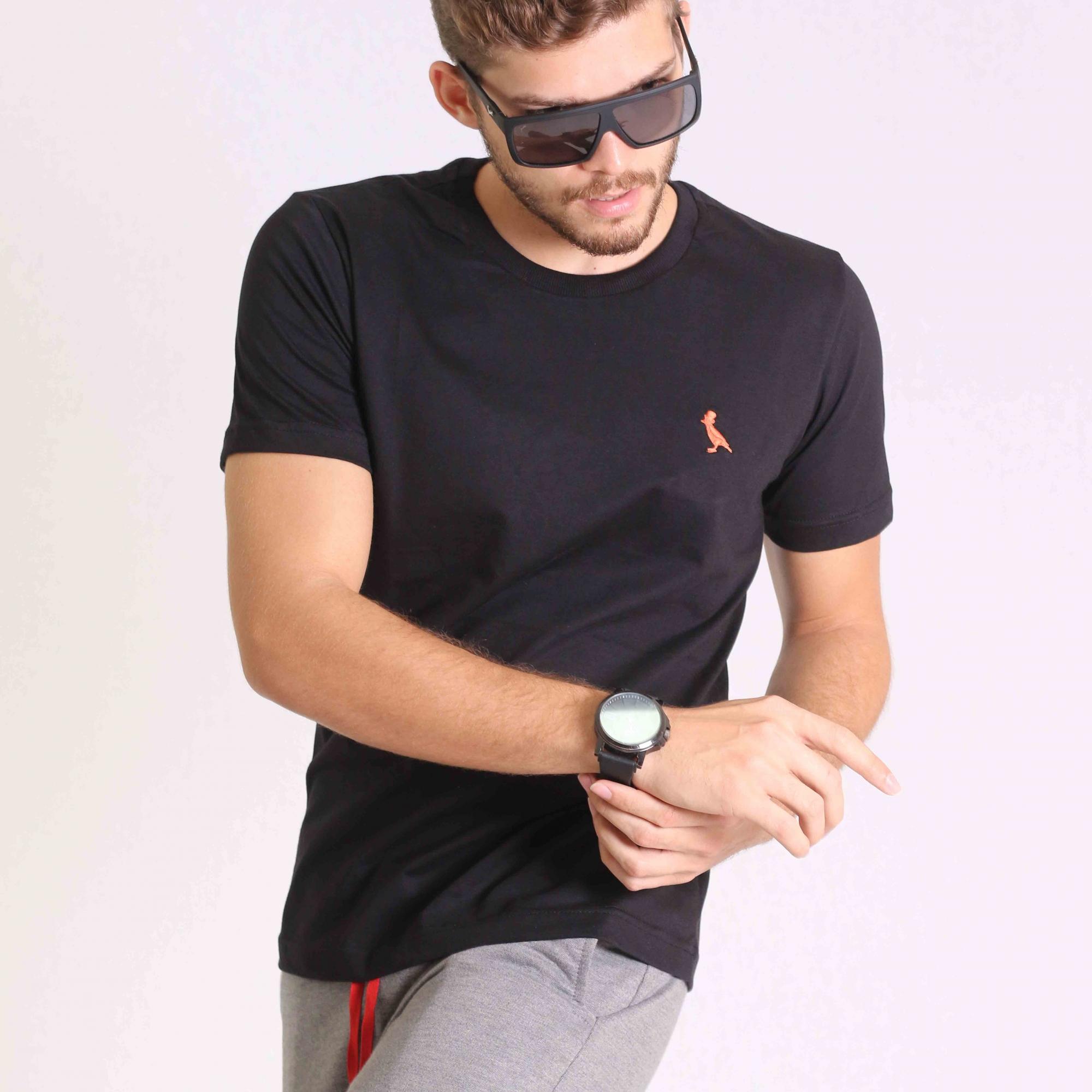 kit 3 Camisetas Básica Masculino Kactoos   - Kactoos