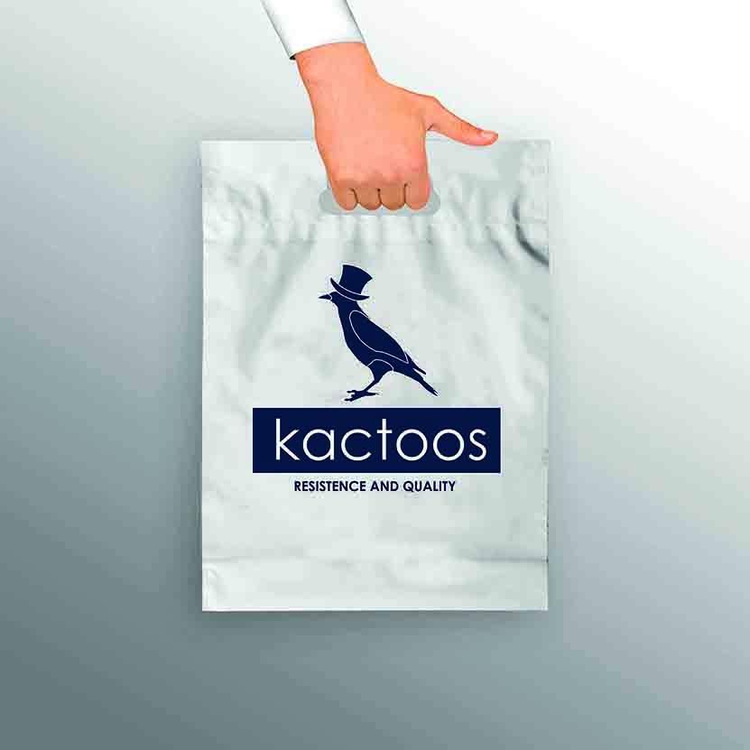 kit 20 un Sacola Kactoos  - Kactoos
