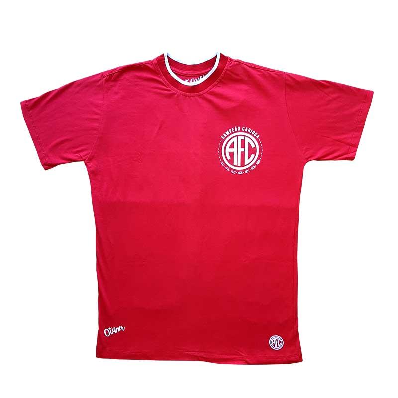 Camisa America Retrô 10 - Vermelha