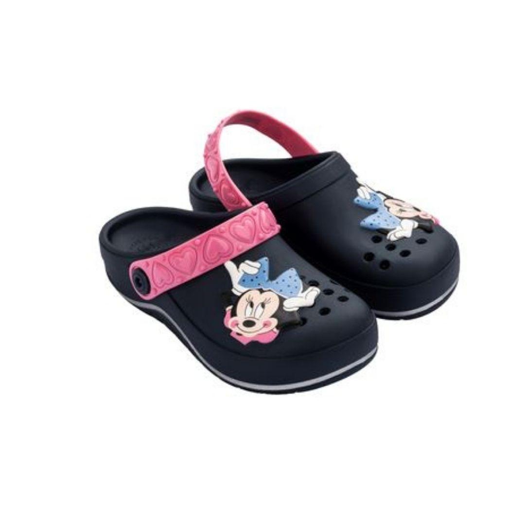 Sandália Crocs Infantil Minnie Glam