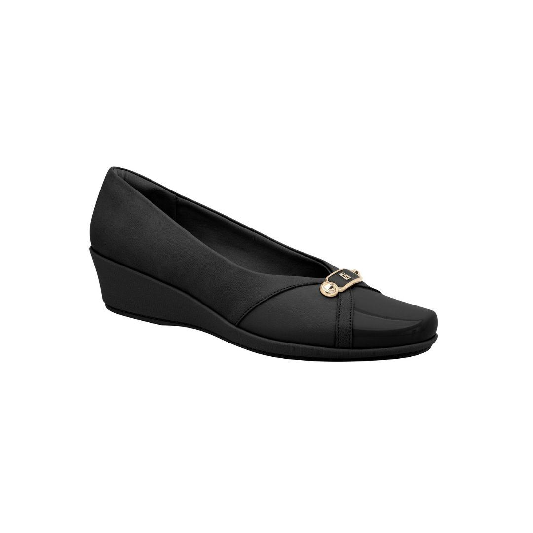 Sapato Anabela Piccadilly Feminino Bico Redondo