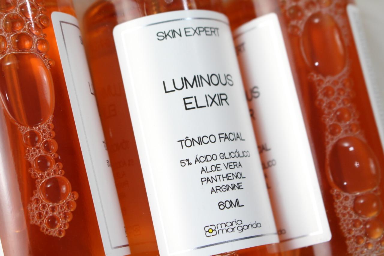 Luminous Elixir - Tônico Facial 5% Ácido Glicólico