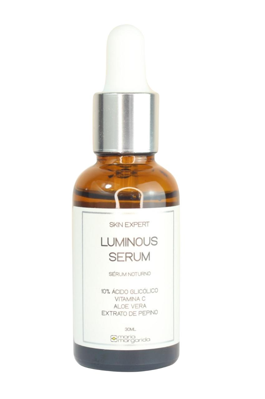 Luminous Sérum Noturno - 10% Ácido Glicólico + Vitamina C