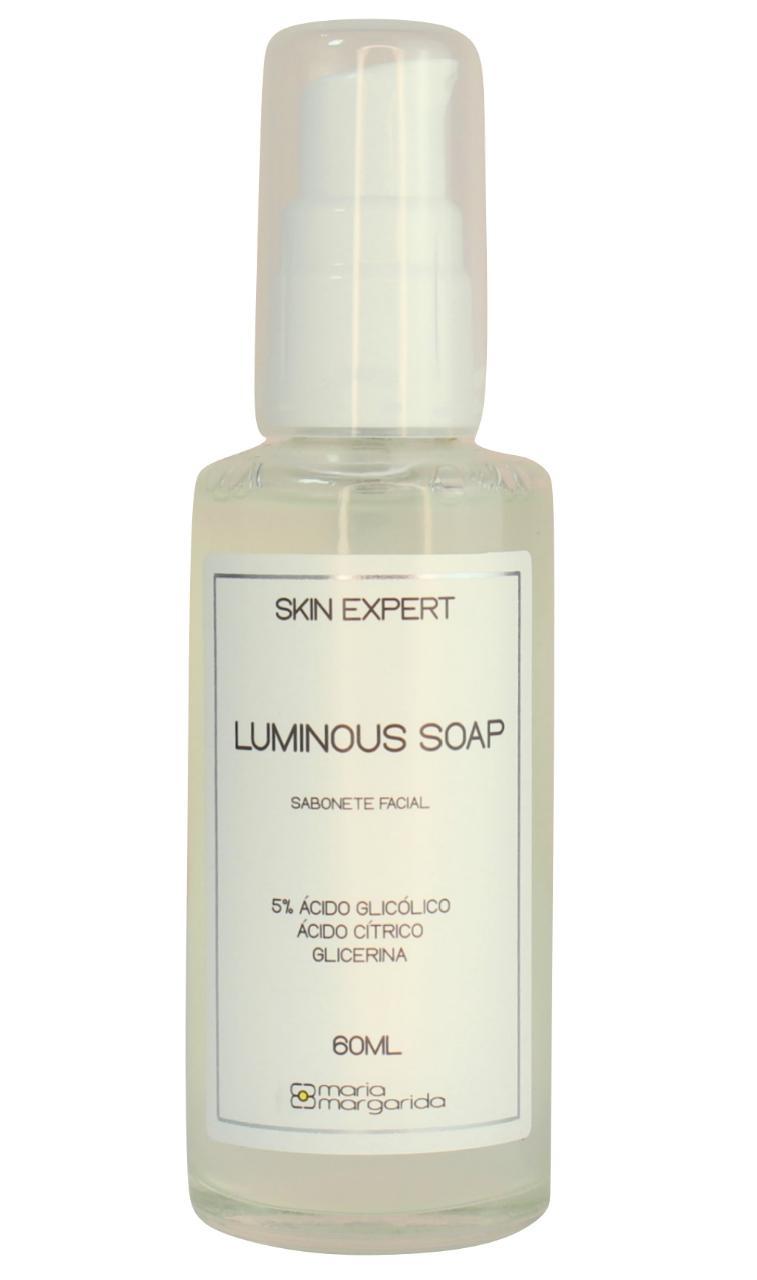 Luminous Soap - Sabonete Facial 5% Ácido Glicólico