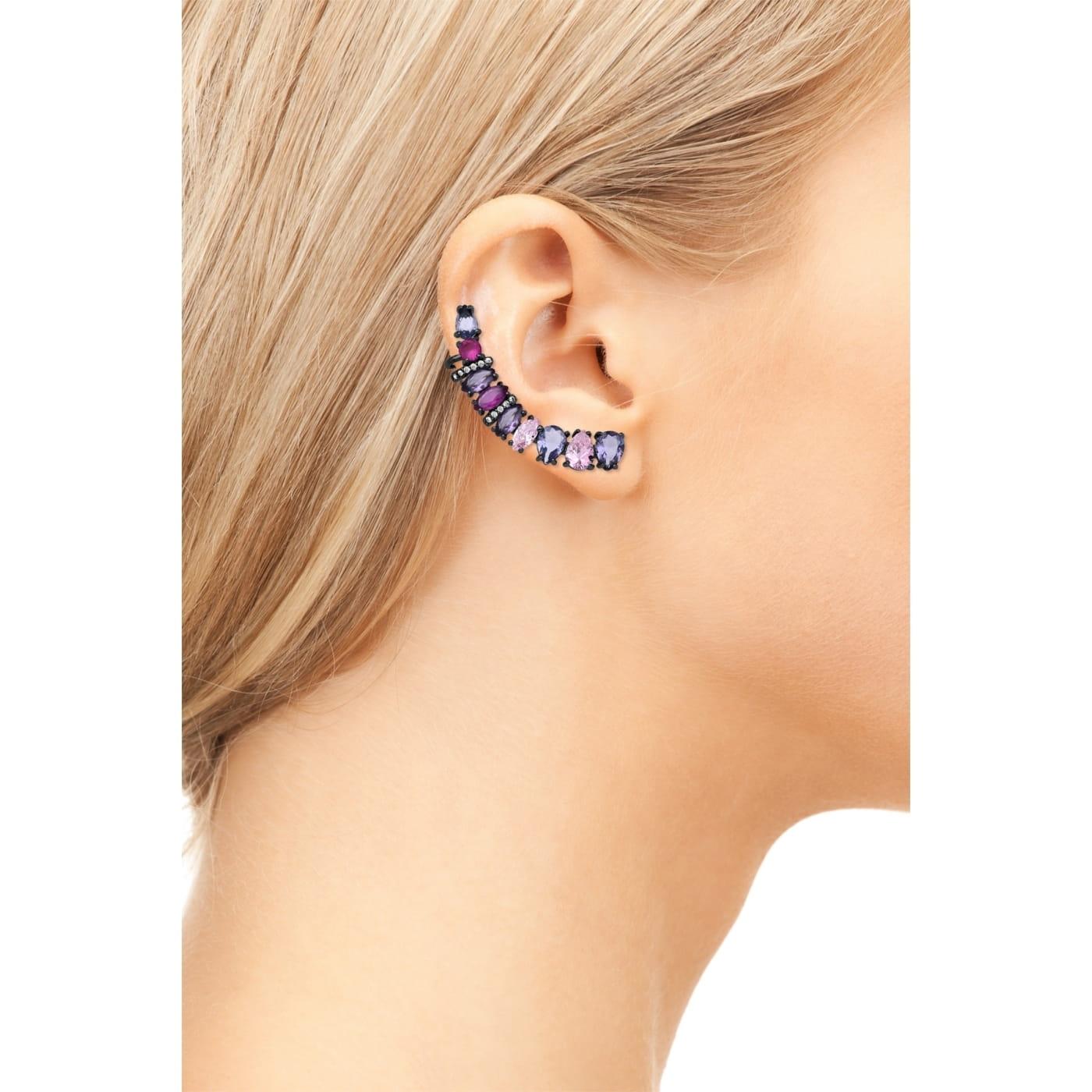Ear Cuff Mix de Pedras Coloridas