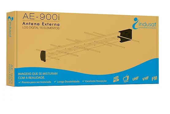 ANTENA EXTERNA UHF/DIGITAL 16 ELEMENTOS AE-900I INDUSAT