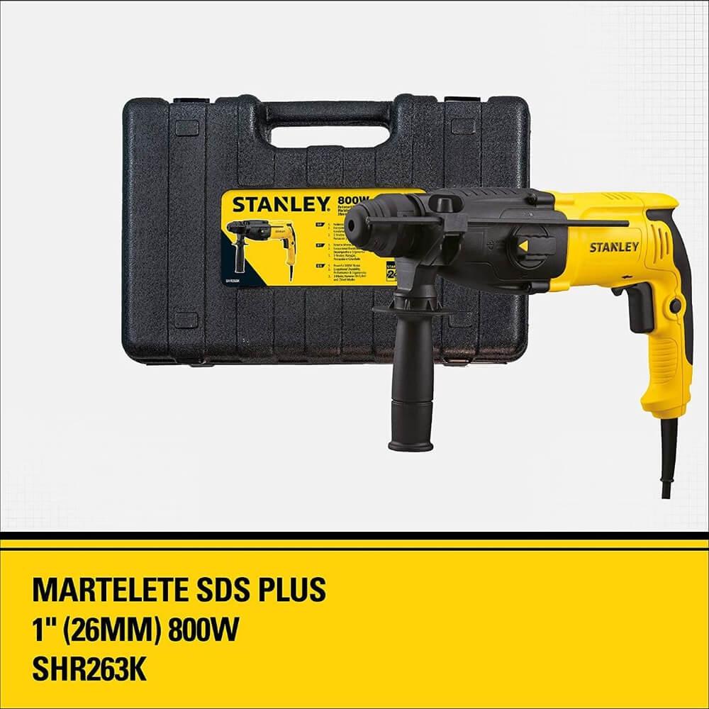 MARTELETE 800W 26mm SDS 220V STANLEY
