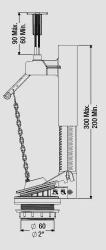 MECANISMO COMPLETO CX. ACOPLADA SUPERIOR (9414) CENSI