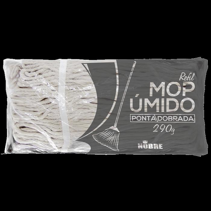 MOP ALGODÃO REFIL PONTA DOBRADA 290G NOBRE