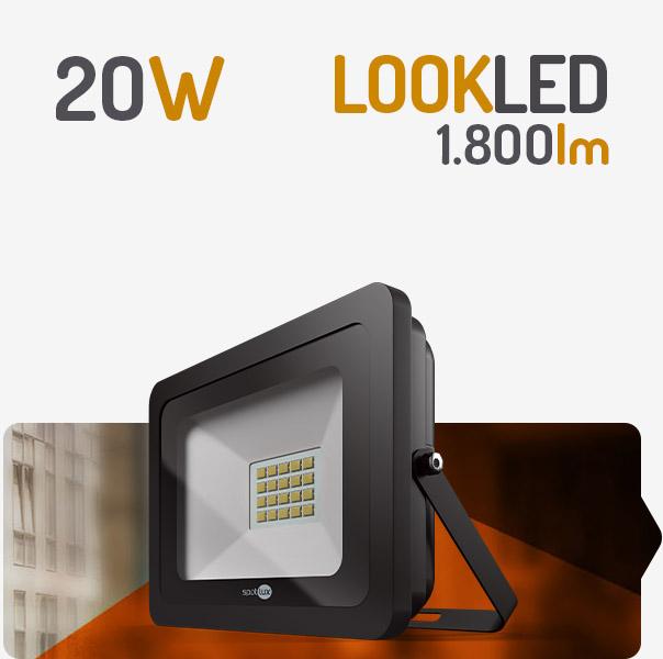 REFLETOR LED 20W VERDE SPOTLUX