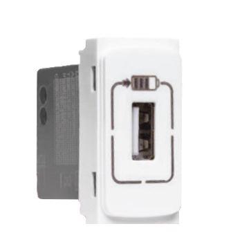 TOMADA CARREGADOR USB 1500mA - MODULO ZEFFIA PIAL