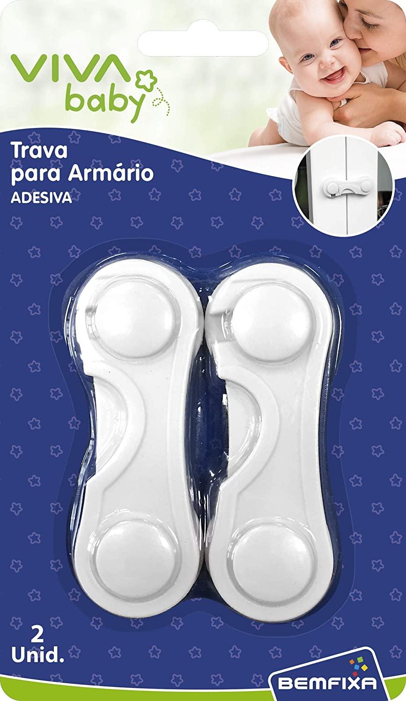 TRAVA ARMARIOS ADESIVO 2UND (5168) BEMFIXA