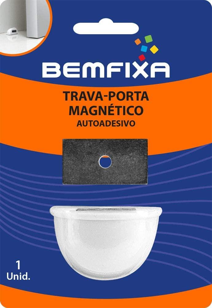 TRAVA PORTA MAGNETICO BRANCO (9028) BEMFIXA