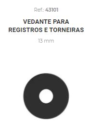 VEDANTE P/TORNEIRA 1/2 13MM ONDULADO (43101) (UND) CENSI