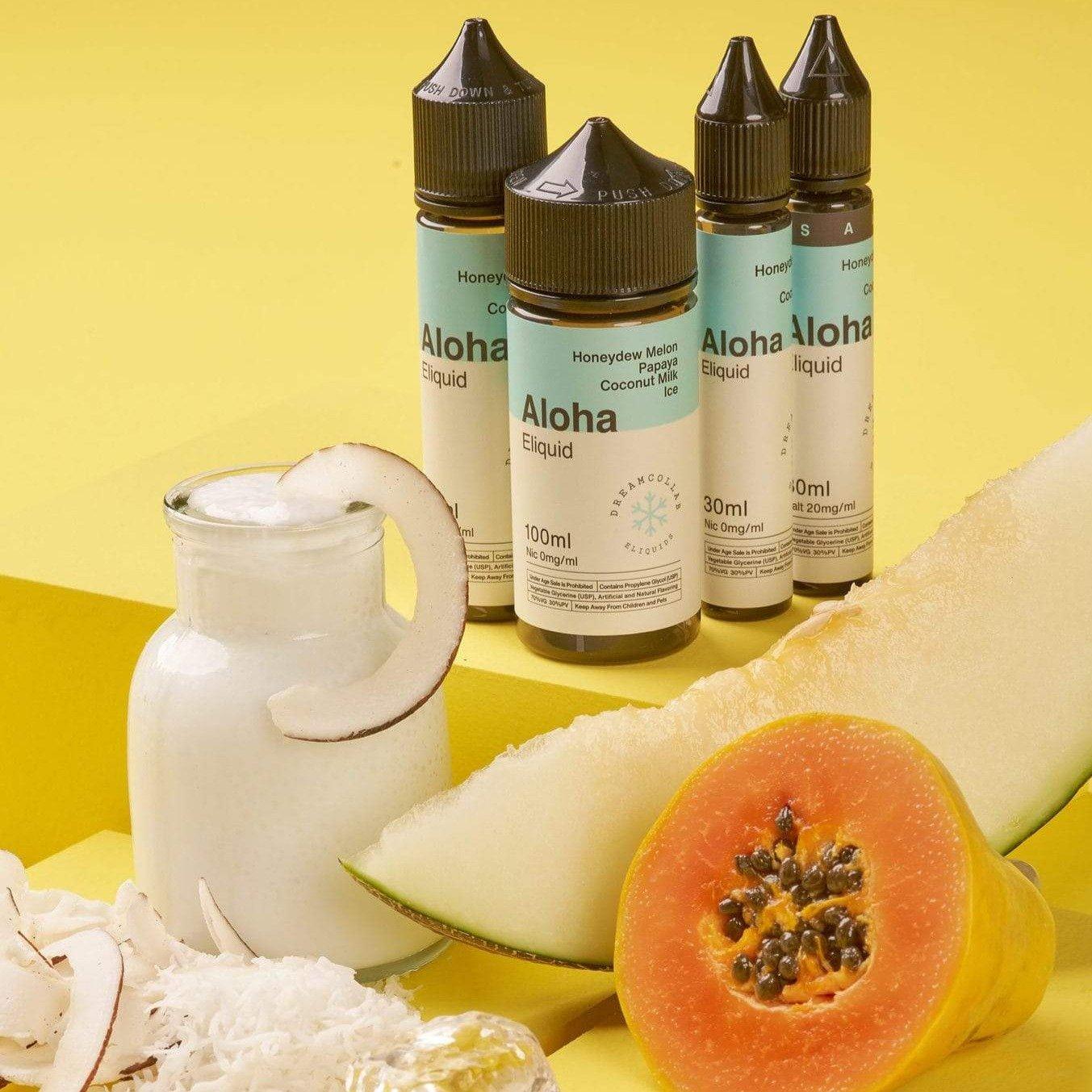 Aloha Salt 30ML - Dream Collab E-liquids