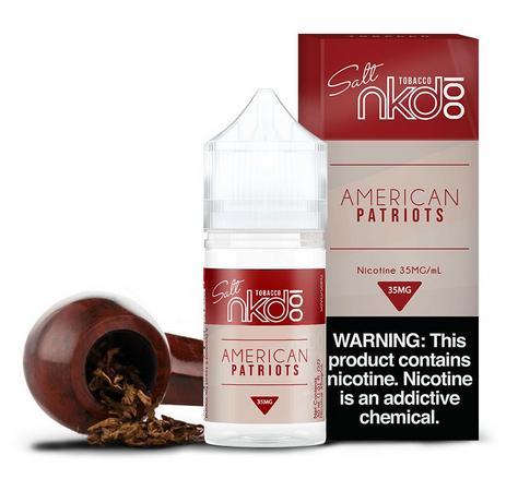 American Patriots Salt 30ML - Naked100 E-Liquid