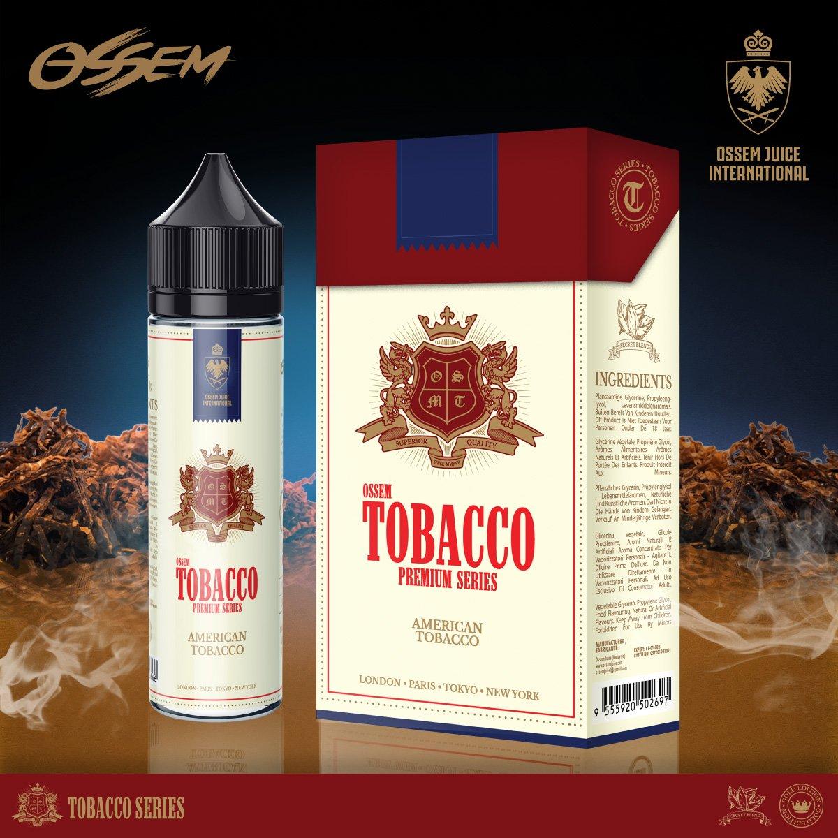 American Tobacco 60ML - Ossem Juice