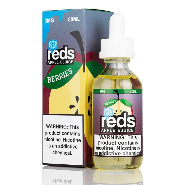 Apple Berries Iced 60ML - RED's Apple E-Liquid