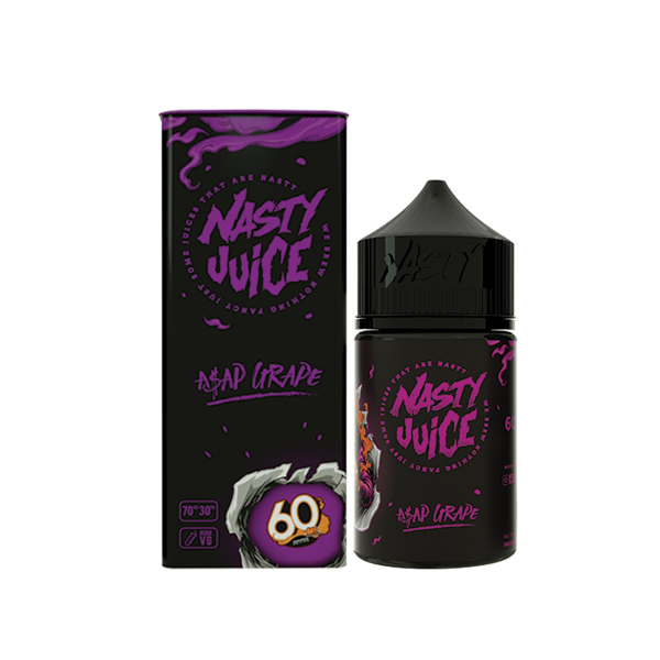 Asap Grape 60ML - Nasty E-Liquid