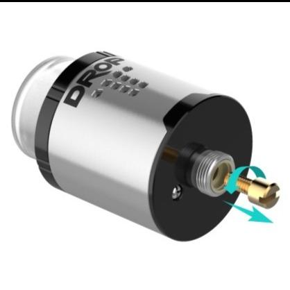 Atomizador Drop RDA SQ Dual Coil 24mm - Digiflavor