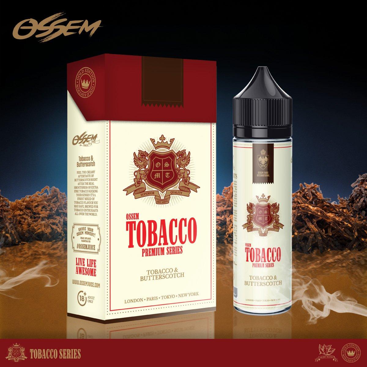 Butterscotch Tobacco 60ML - Ossem Juice