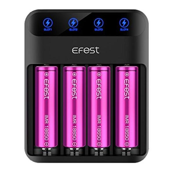 Carregador de Bateria EFEST SLIM K4