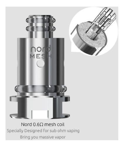 Coil Nord Mesh Smok 0.6 Resistência (1 un.)