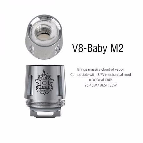 Coil V8 Baby M2 Smok 0.25 Resistência (1 un.)