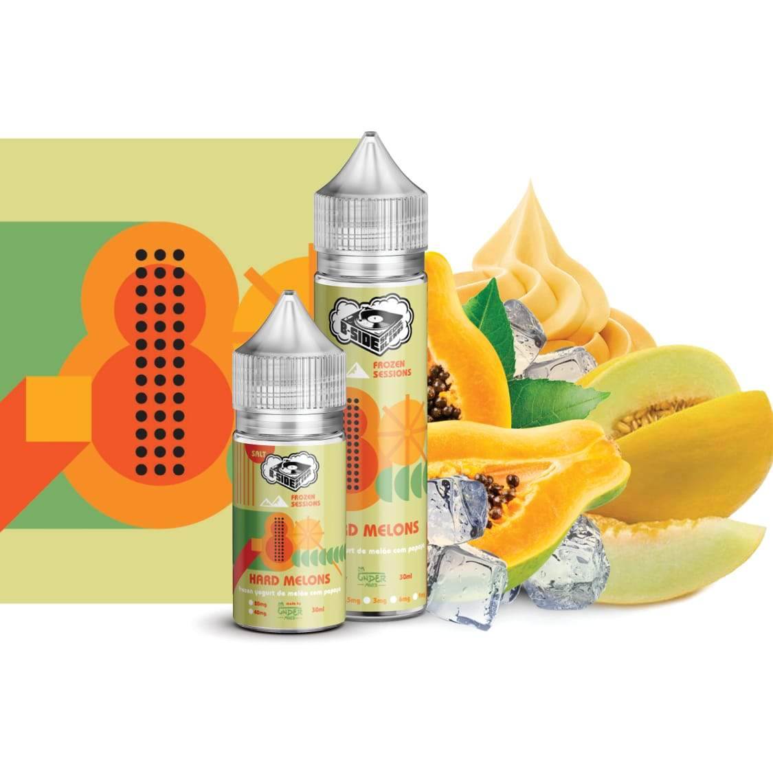 Hard Melons 30ML - B-SIDE Special Blends