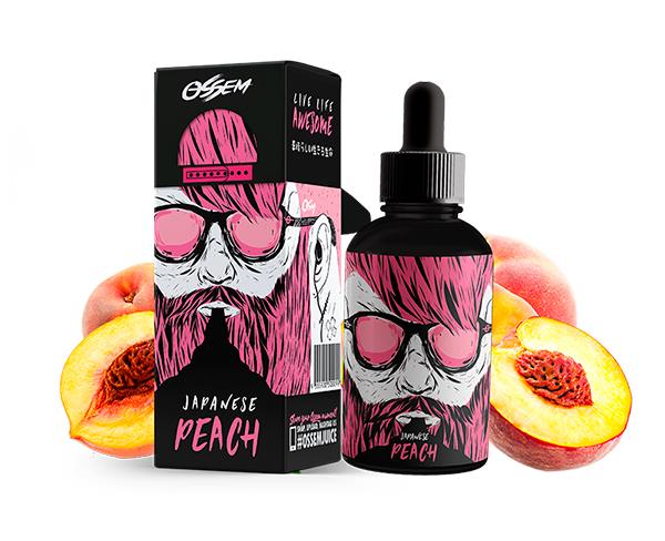Japanese Peach 60ML - Ossem Juice