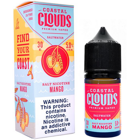 Mango Salt 30ML - Coastal Clouds