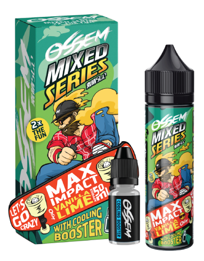 Max Impact Vanilla Lime 60ML - Ossem Juice