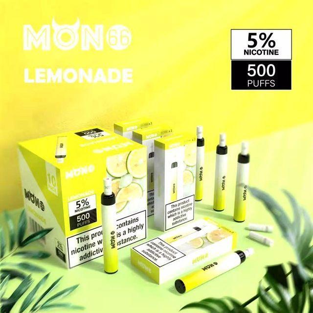 Pod Descartável Lemonade - Mon66