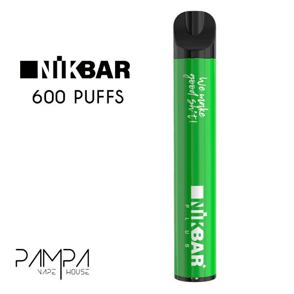 Pod Descartável Lush Ice 600puffs - Nikbar